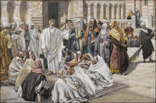 3-Tissot The Pharisees Question Jesus