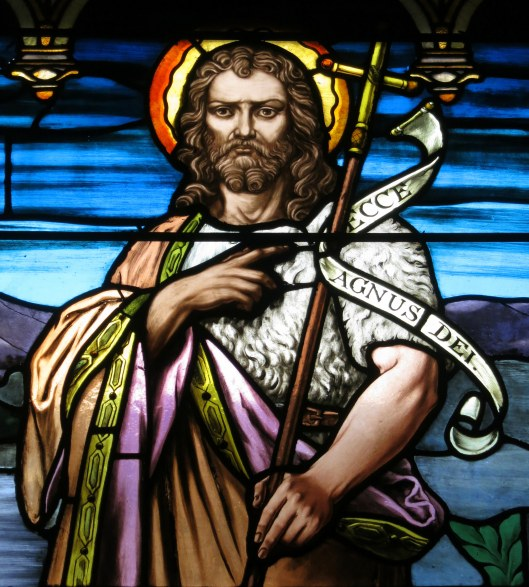 Saint_Paul_Church_Yellow_Springs_Ohio_-_stained_glass_Saint_John_the_Baptist_-_detail